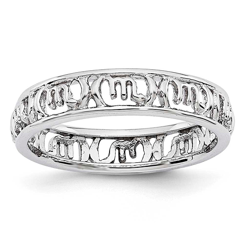 Sterling Silver Stackable Expressions Scorpio Zodiac Ring