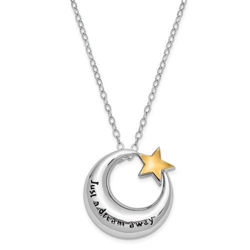 Sterling Silver Just A Dream Away Ash Holder Necklace