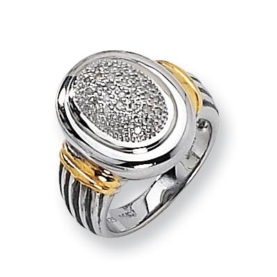 1/5 CT Diamond Pavé Ring Size 6