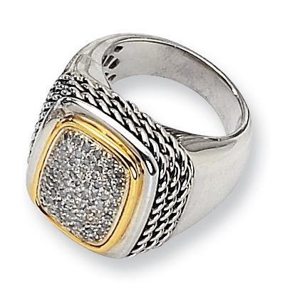1/3 CT Diamond Pavé Ring Size 6