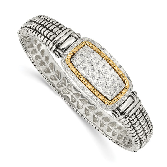1/4 CT Diamond Bangle