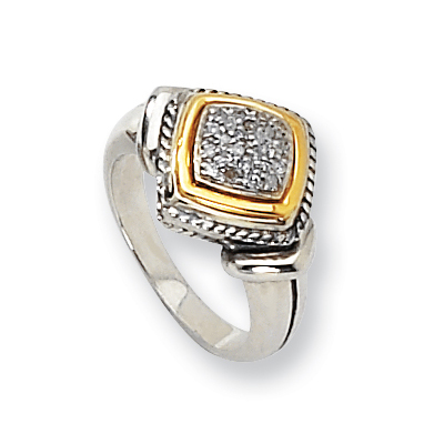 1/8 CT Diamond Pavé Ring Size 8