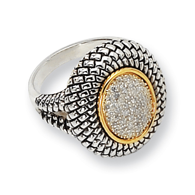 1/4 CT Diamond Pavé Ring Size 6