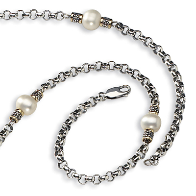 9mm Freshwater Cultured Pearl 32in Necklace