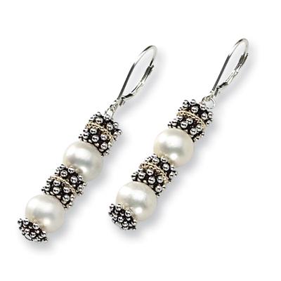 8.5mm Freshwater Pearl Earrings