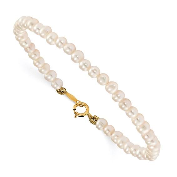 Kid's 14kt Yellow Gold Madi K Necklace Earrings Bracelet Set