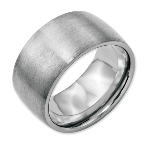 Stainless Steel 12mm Satin Band
