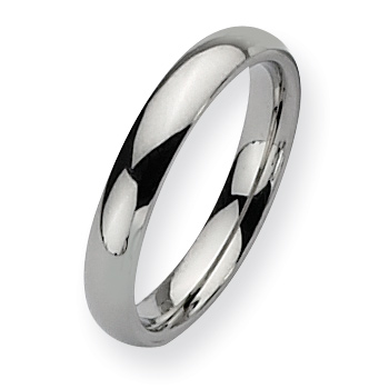 4mm Stainless Steel Domed Ring