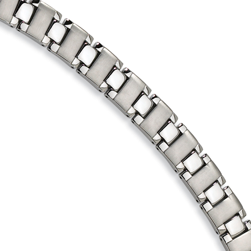 Stainless Steel Bracelet 8.75in