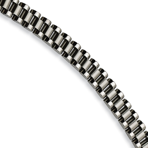 Stainless Steel 8.5in Rolex Style Bracelet