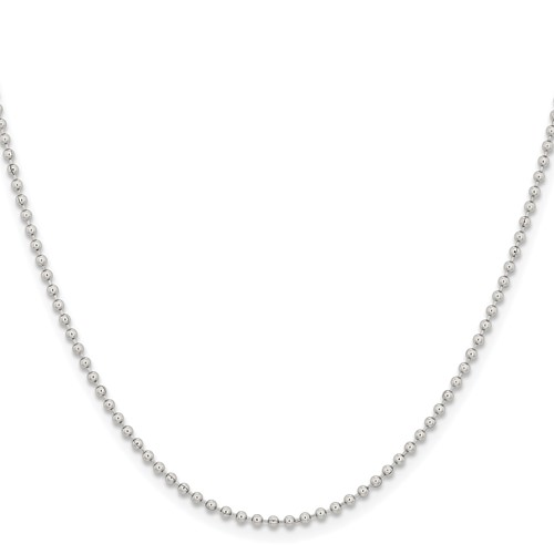 18in Stainless Steel Bead Chain 2.0mm