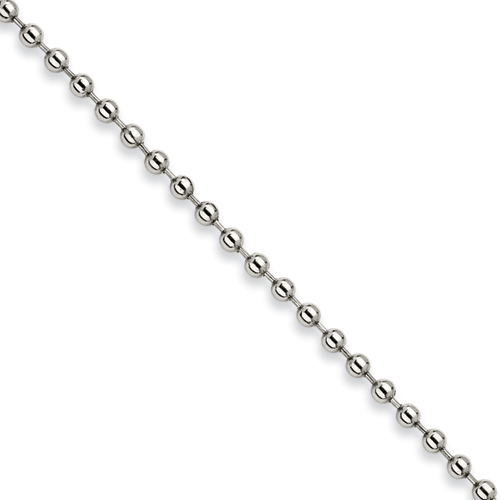 20in Stainless Steel Bead Chain 5.0mm