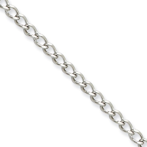 18in Stainless Steel Open Link Chain 3.0mm