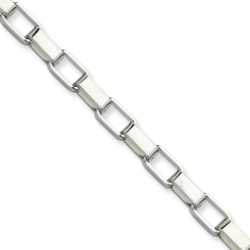22in Stainless Steel Box Chain 4.8mm