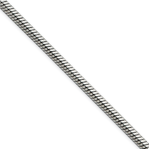 Stainless Steel 30in Snake Chain 2.4mm