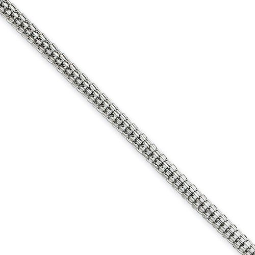 30in Stainless Steel Bismark Chain 2.5mm