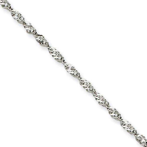 20in Stainless Steel Singapore Chain 2.0mm
