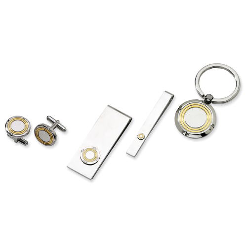 Stainless Steel with IP-Plating 4-piece Boxed Set