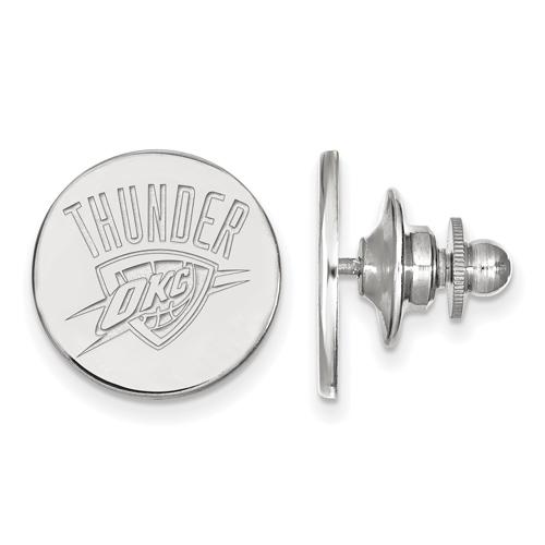 Sterling Silver Oklahoma City Thunder Lapel Pin