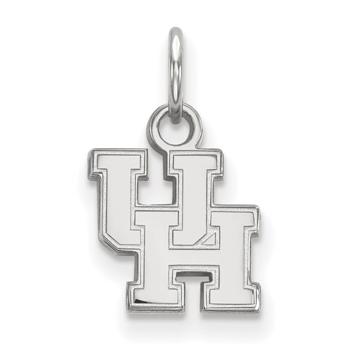 Sterling Silver 3/8in University of Houston UH Pendant