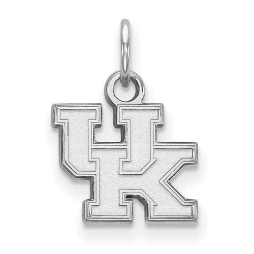 Sterling Silver 3/8in University of Kentucky UK Charm