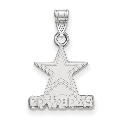 Sterling silver 58in dallas cowboys pendant ss002cow joy jewelers sterling silver 58in dallas cowboys pendant aloadofball Images