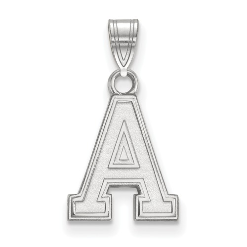 United States Military Academy Pendant 1/2in 10k White Gold