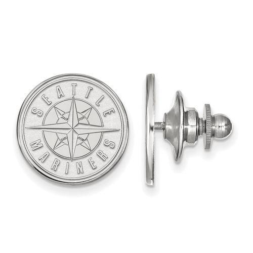 Sterling Silver Seattle Mariners Lapel Pin