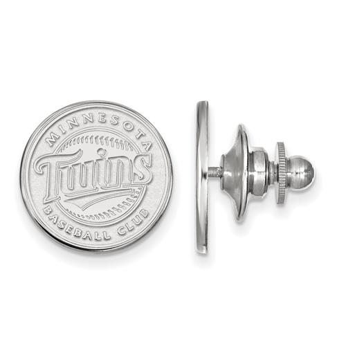 Sterling Silver Minnesota Twins Lapel Pin