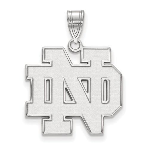 Sterling silver 34in university of notre dame nd pendant ss004und sterling silver 34in university of notre dame nd pendant aloadofball Choice Image