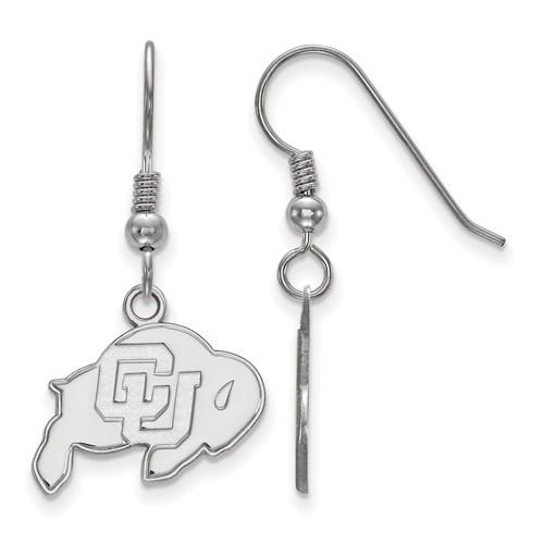 University of Colorado Buffalo Dangle Earrings Sterling Silver