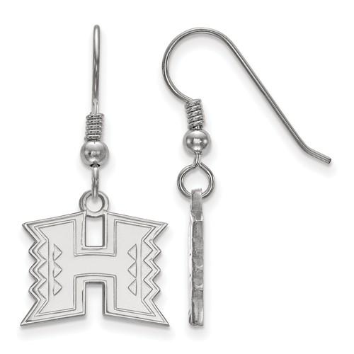 University of Hawaii Dangle Earrings Sterling Silver