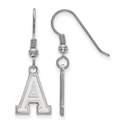 United States Military Academy Small Dangle Earrings Sterling Silver