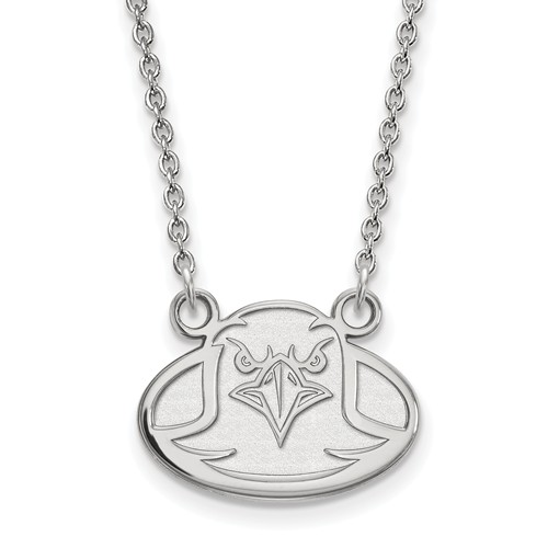 Sterling Silver Small Boston College Eagle Necklace