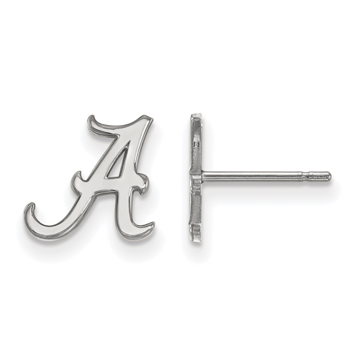 Sterling Silver University of Alabama Extra Small Post Earrings