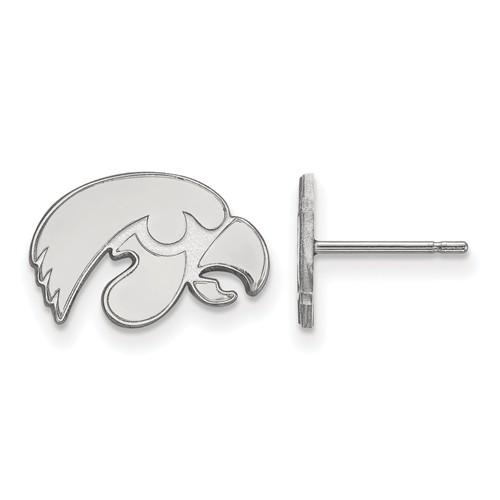 University of Iowa Tiny Earrings Sterling Silver