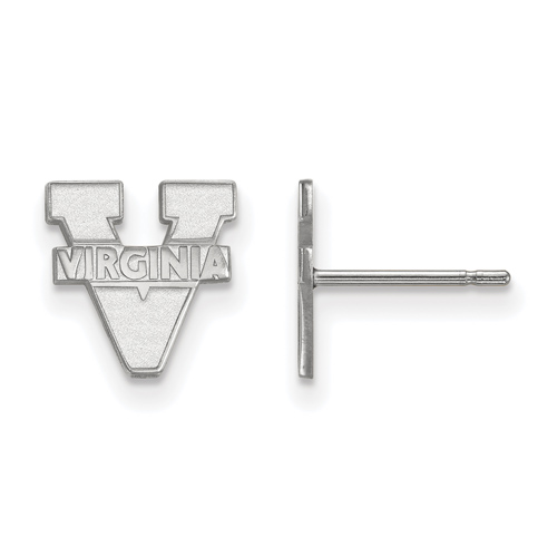Sterling Silver University of Virginia Extra Small Post Earrings