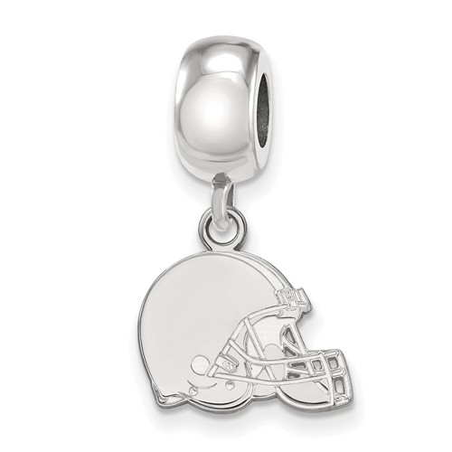 Sterling Silver Cleveland Browns Extra Small Dangle Bead