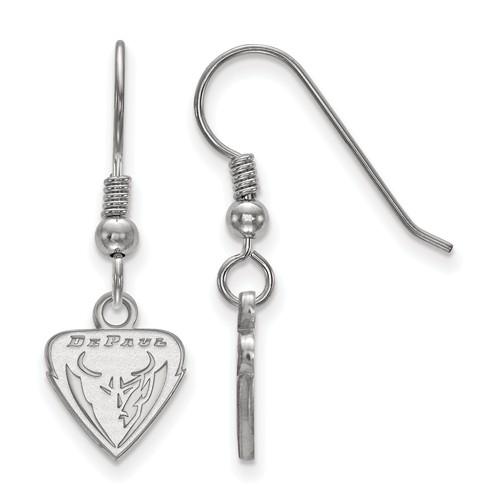 DePaul University Dangle Earrings Sterling Silver