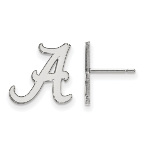 Sterling Silver University of Alabama Small Post Earrings