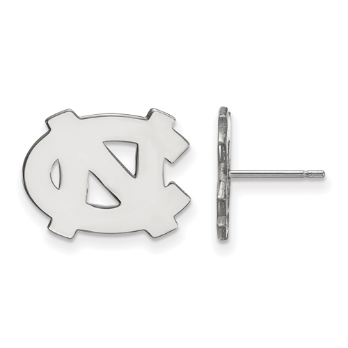 Sterling Silver University of North Carolina NC Small Post Earrings