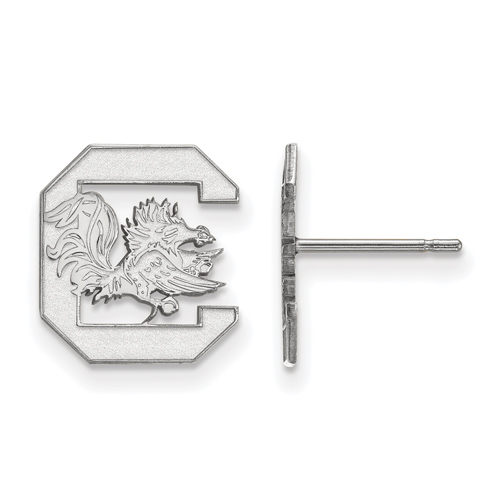 Sterling Silver University of South Carolina Small Post Earrings