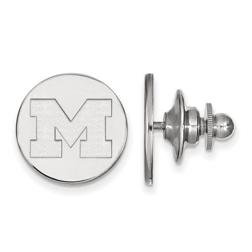Sterling Silver University of Michigan Tie Tac