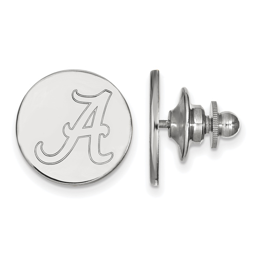 Sterling Silver University of Alabama Lapel Pin
