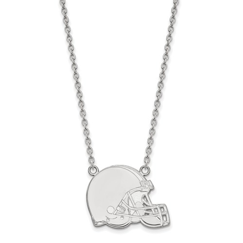 Cleveland Browns Pendant Necklace Sterling Silver
