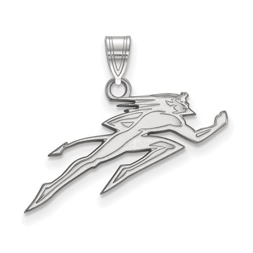 DePaul University Running Demon Pendant Sterling Silver