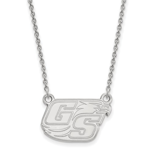 Sterling Silver Georgia Southern University GS Small Necklace