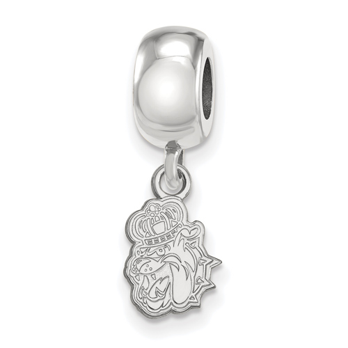 Sterling Silver James Madison University Dangle Bead