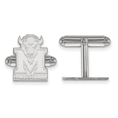 Sterling Silver Marshall University Cuff Links