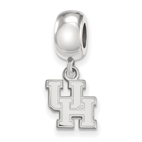Sterling Silver University of Houston Extra Small Dangle Bead Charm
